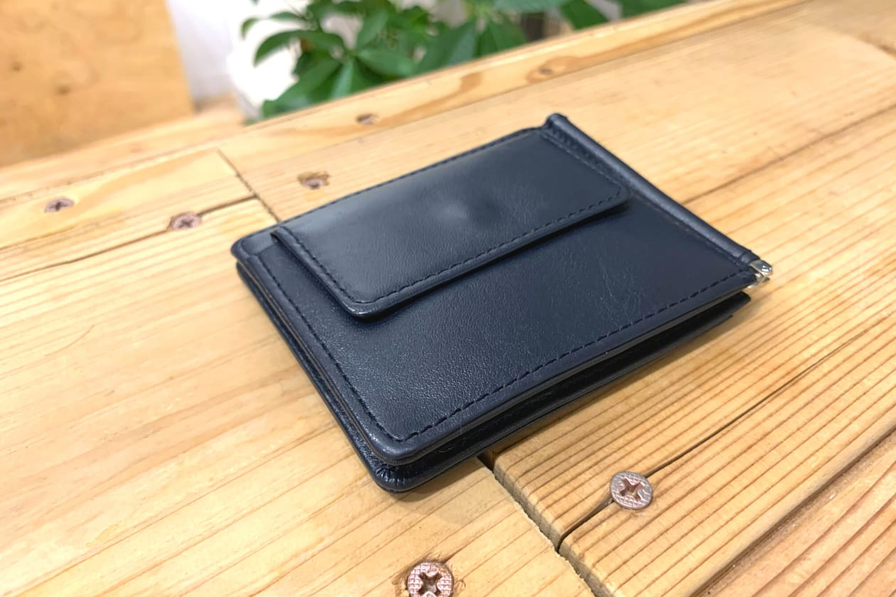 Business leather factoryのマネークリップ