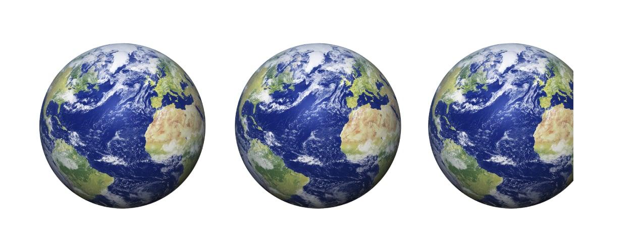 日本のエコロジカルフットプリントは2.9個