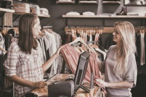 Ethical shopping, buying eco-conscious clothes