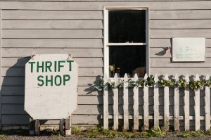 Ethical sustainable clothing include thrift shopping