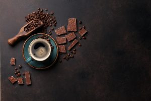 fairtrade products, chocolate and coffee