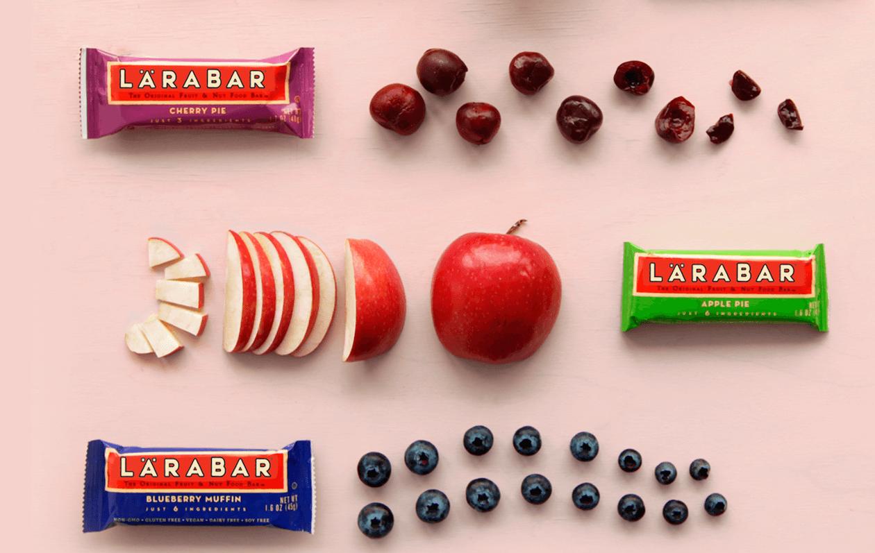 Lärabar - fair trade food (Granola bars)
