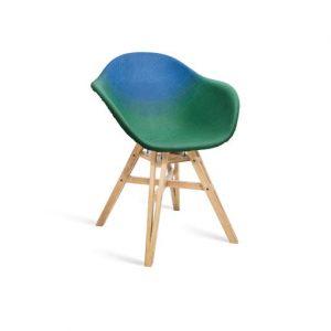 Graveneのプラスチック粉でできたアップサイクル椅子