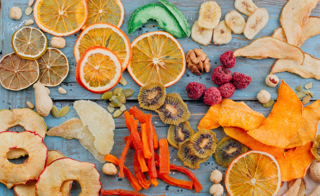 Food Waste: fruits and peels