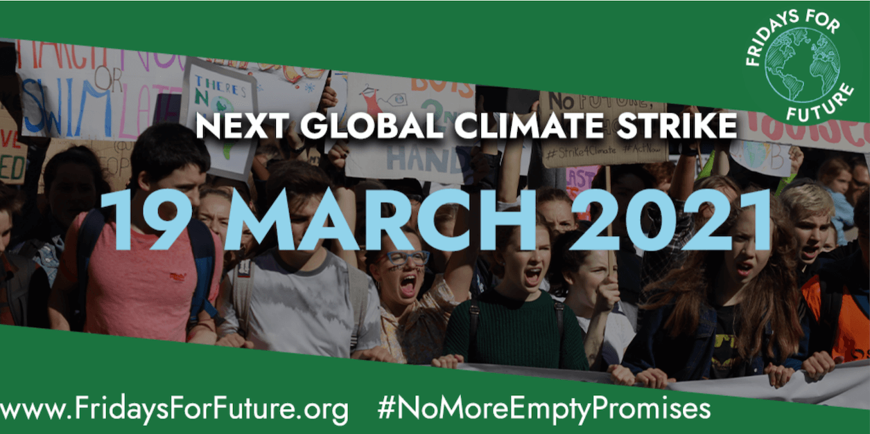 Fridays For Future's March 19th, Digital Banner