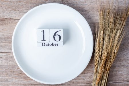 World food dayと飢餓に関して