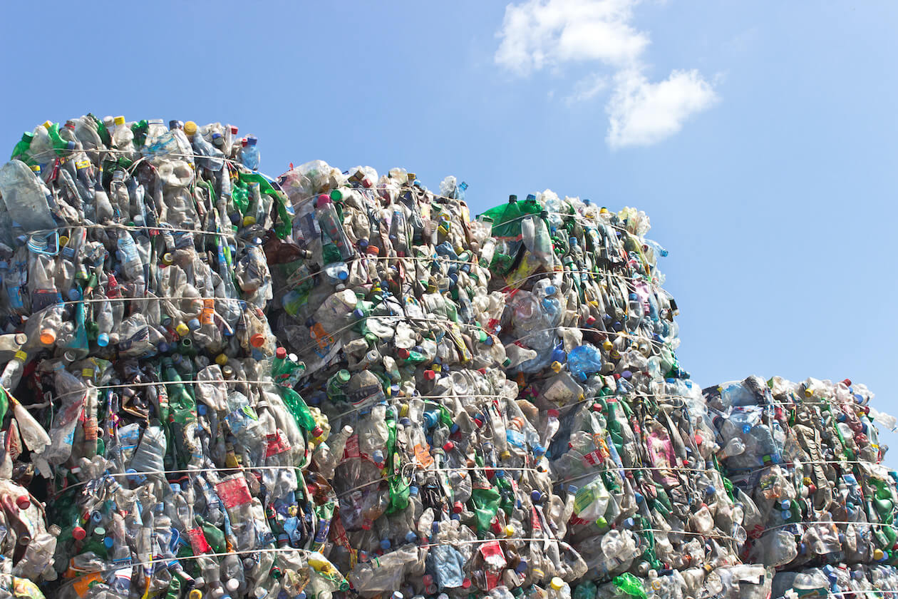 Piles of Plastic Waste/Pollution