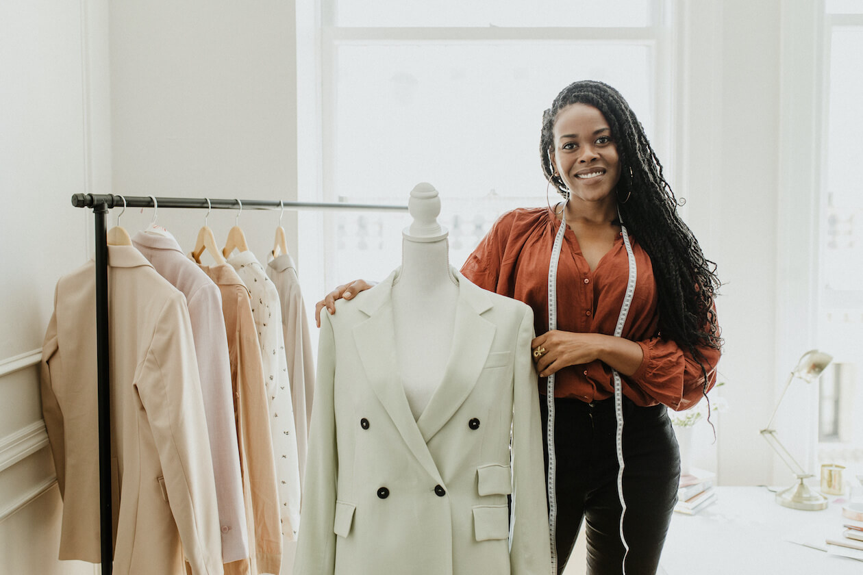 Designer for zero waste fashion brands