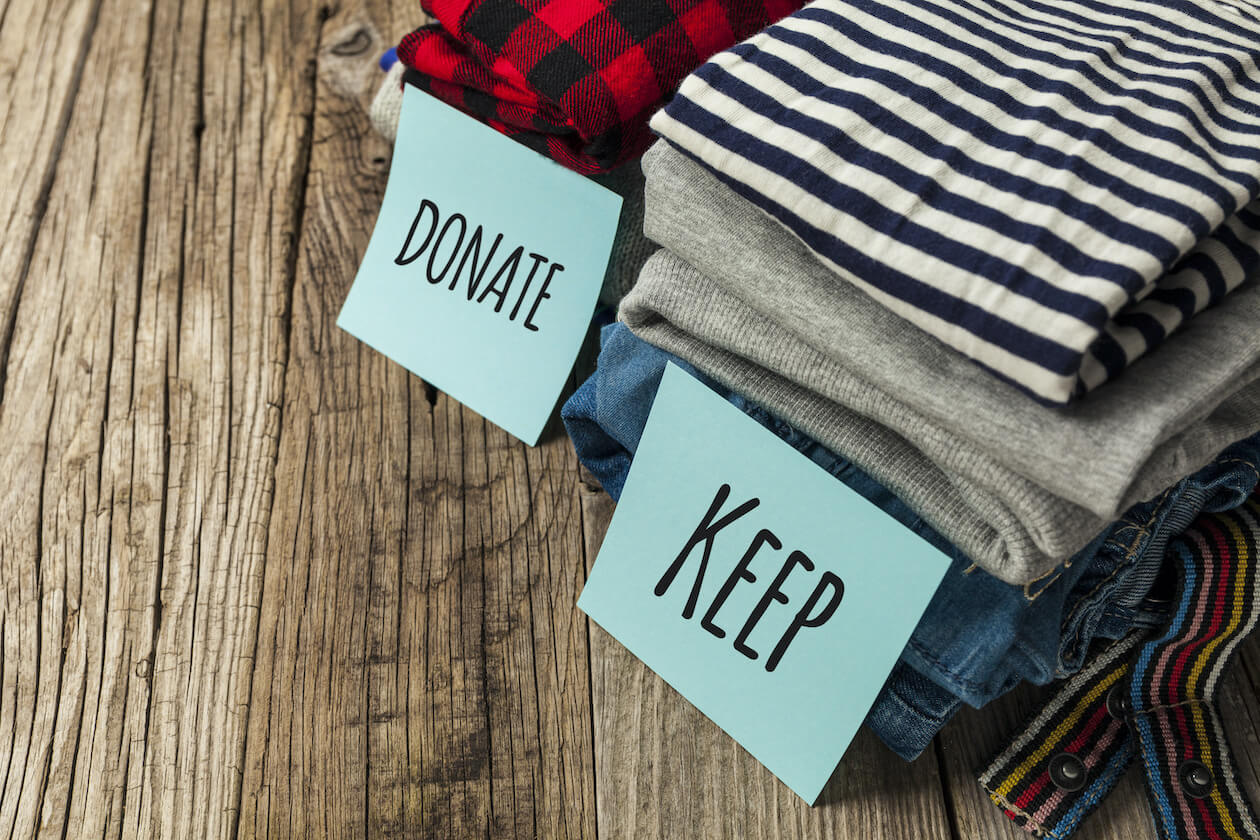 Donating and thrifting is another way to have an eco friendly fashion style