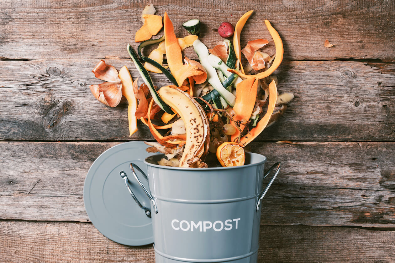 Food waste prevention: compost