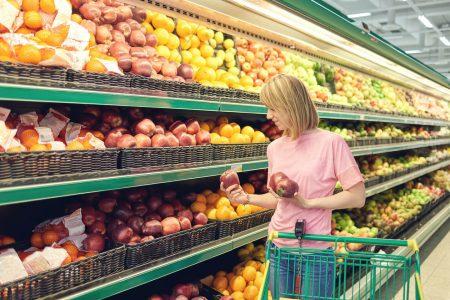 Food Waste Problem: Overstocked supermarket