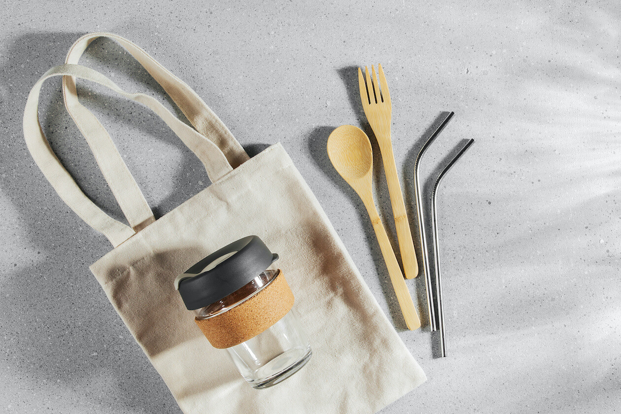 plastic free household items that you can bring around