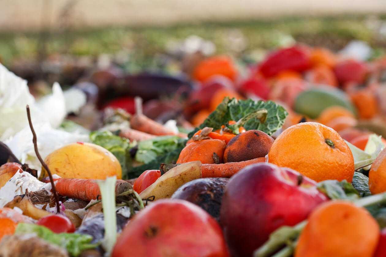 Food waste are often created in supermarkets