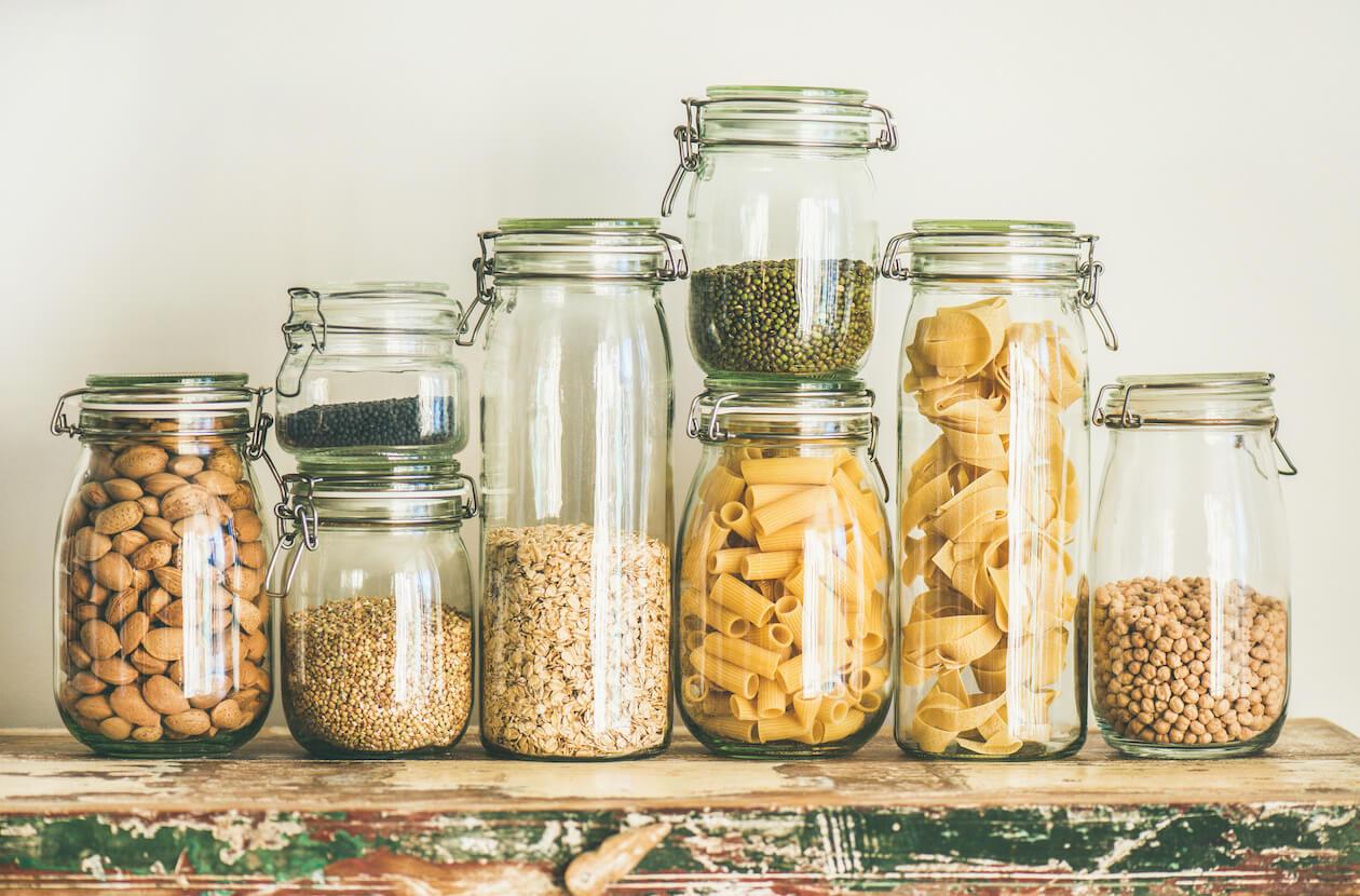 Zero Waste Hack: use glass jars!