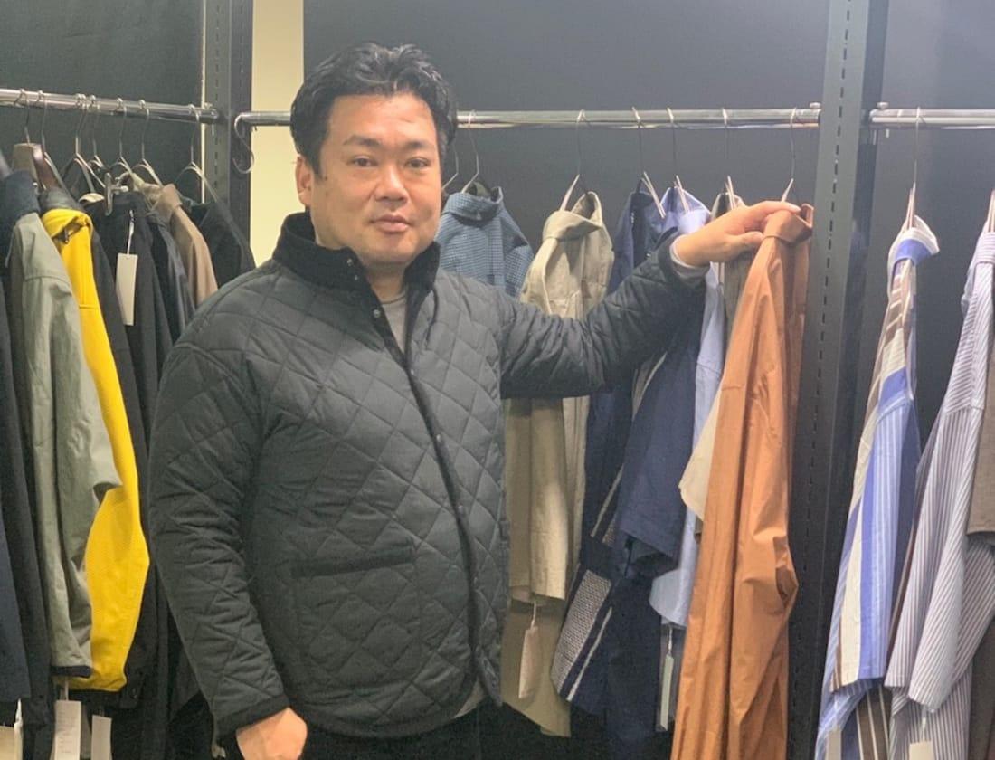 ファッションのシステムを刷新したいと語る鈴木素さん
