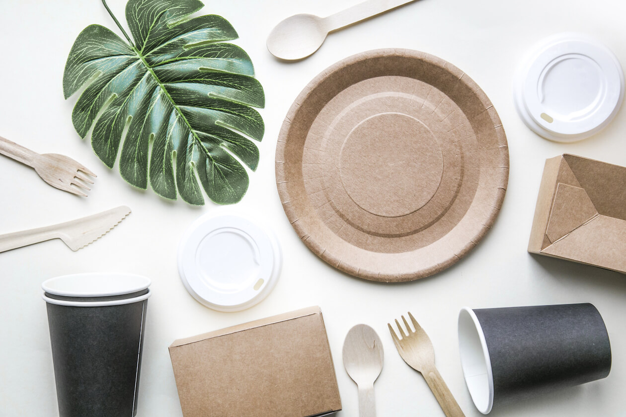 Biodegradable product instead of plastic