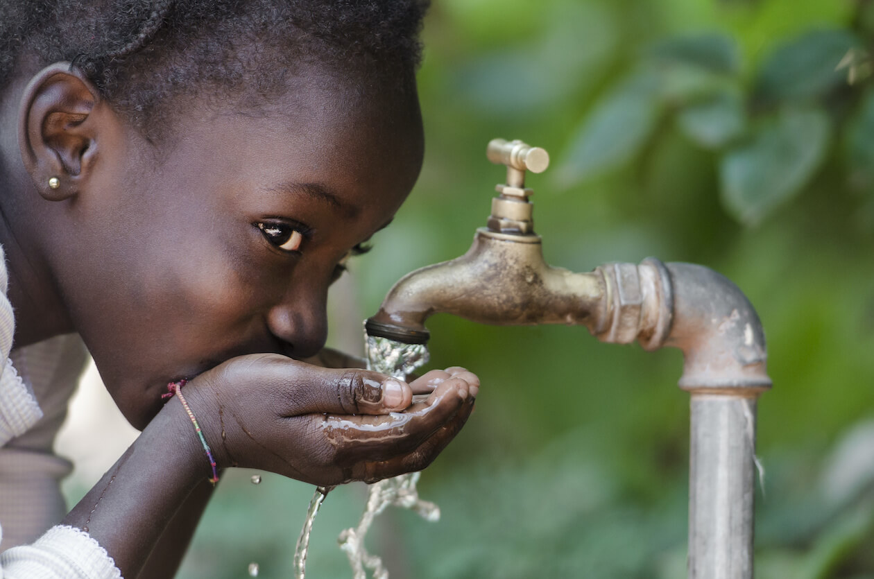 Clean water is a big part of human life - sdg 6