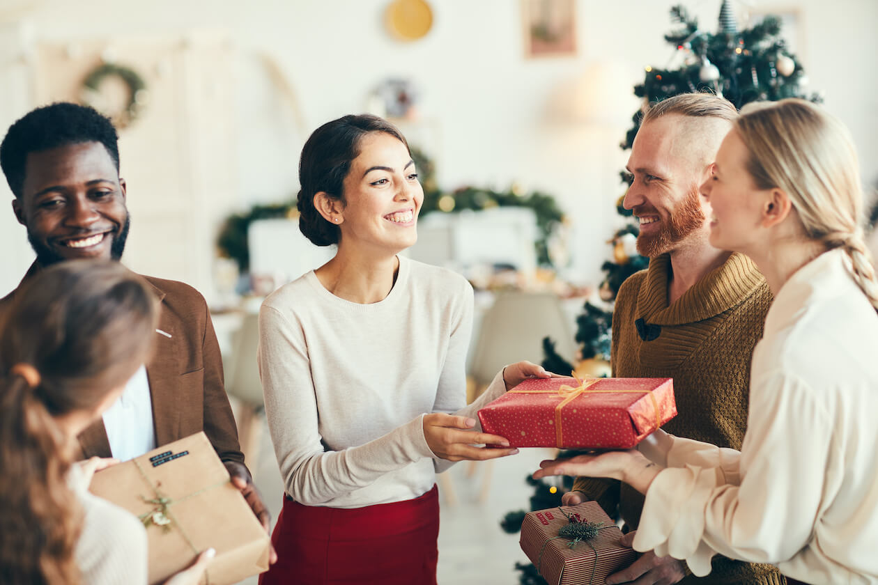 Giving eco friendly gifts is good for both parties