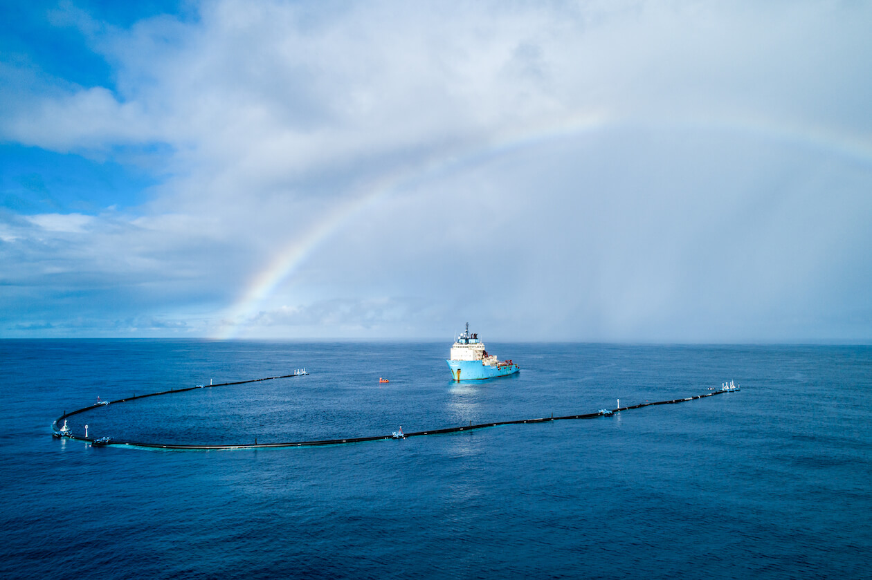 The Ocean Cleanup: Waste management technology