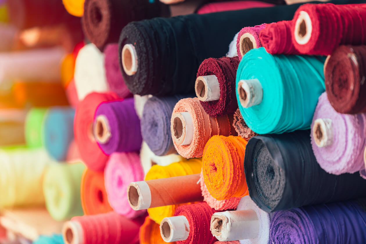 Different kinds of fabric