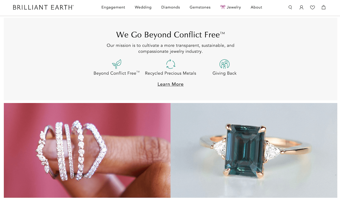 Eco-Friendly Jewelry: Brilliant Earth