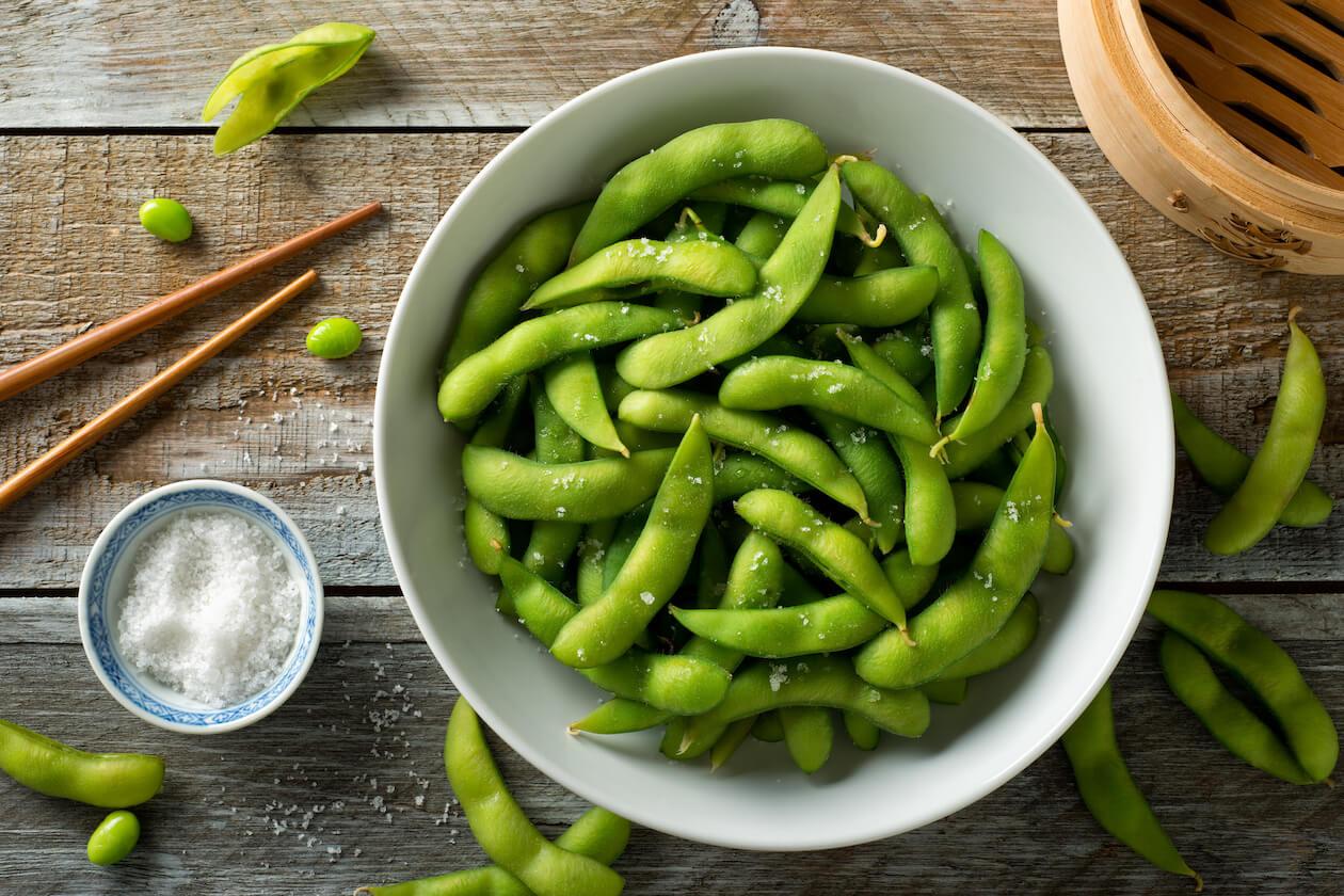Vegan Food with Omega-3: Edamame