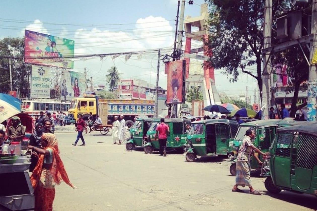 バングラデシュの街並み