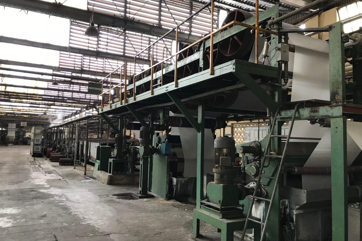 環境に配慮したガーナの工場
