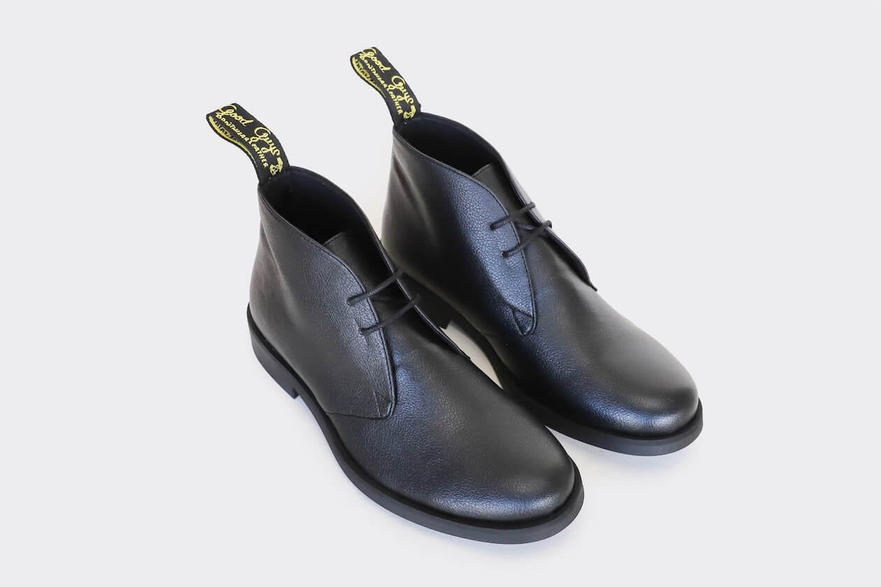 Good Guys Don't Wear Leather- Vegan leather shoes