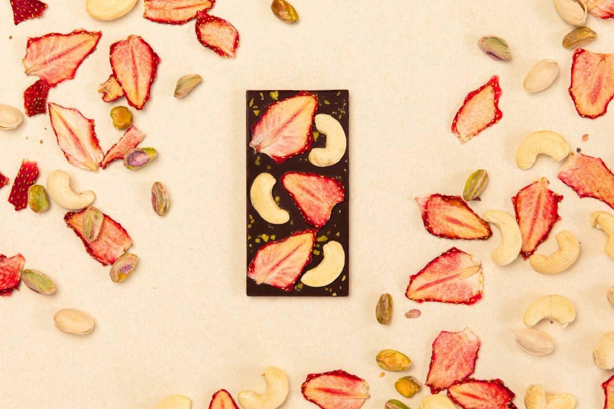 フルーツタブレットチョコレート