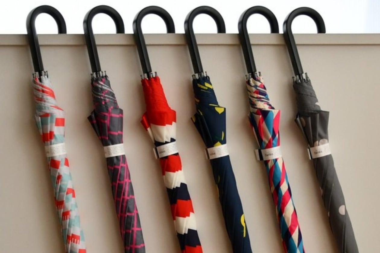 ビニール傘の消費削減につながるカサ