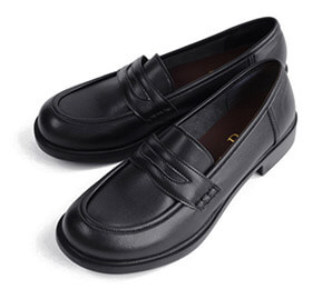 Belle & Sofa's Soft Coin Loafers