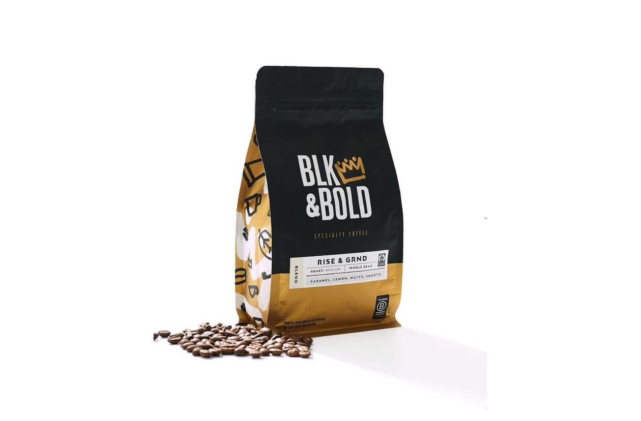 Blk & Bold - a sustainable coffee brand