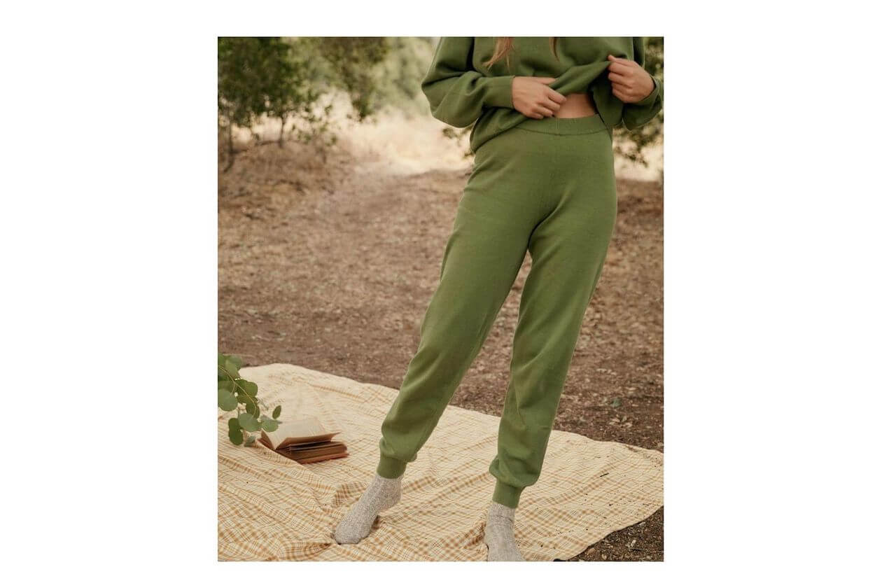 Luxurious Organic Cotton Sweatpants from Christy Dawn