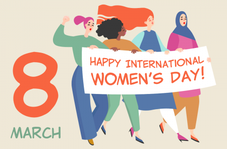 International Women's Day graphic