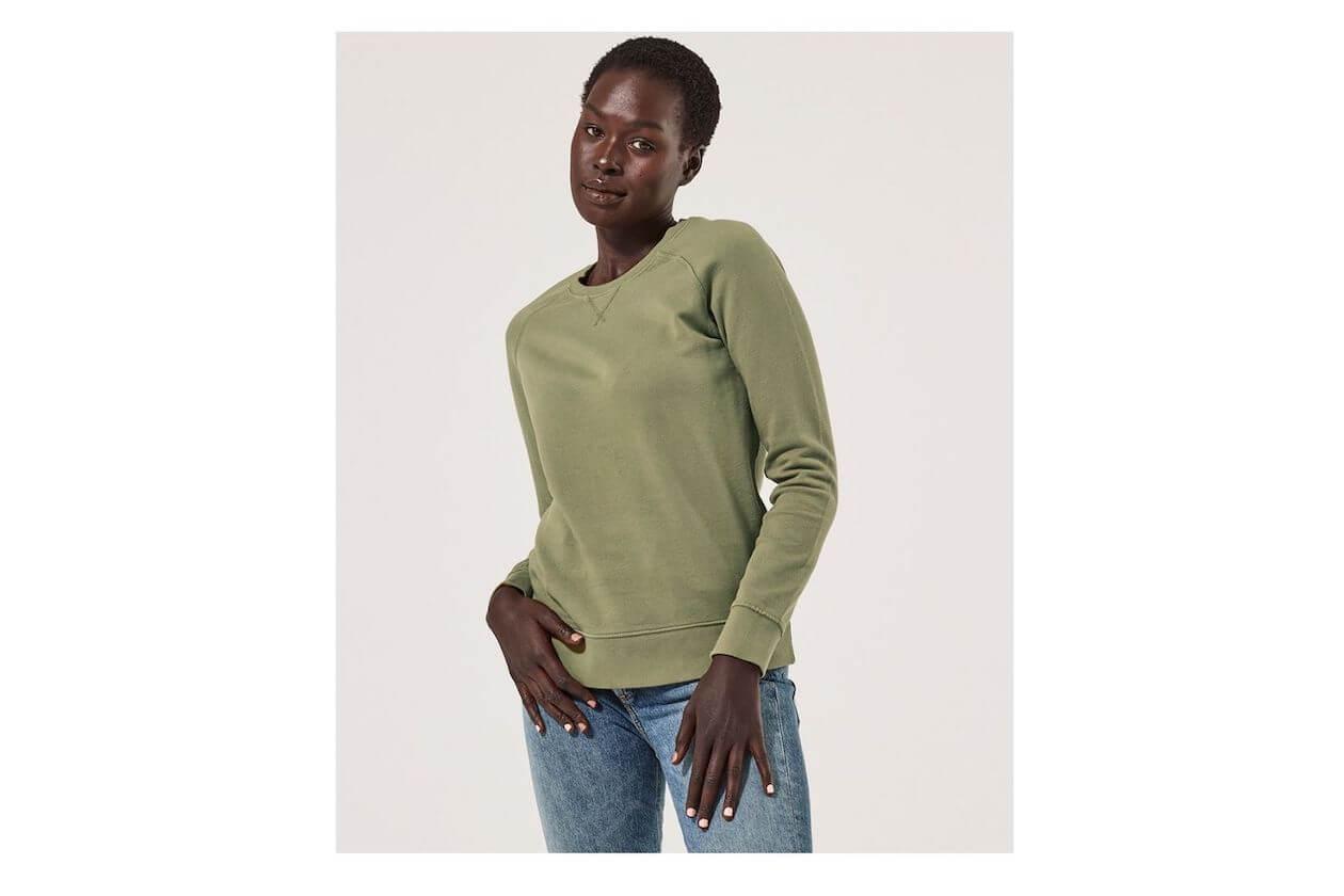 Organic cotton sweatshirt from PACT