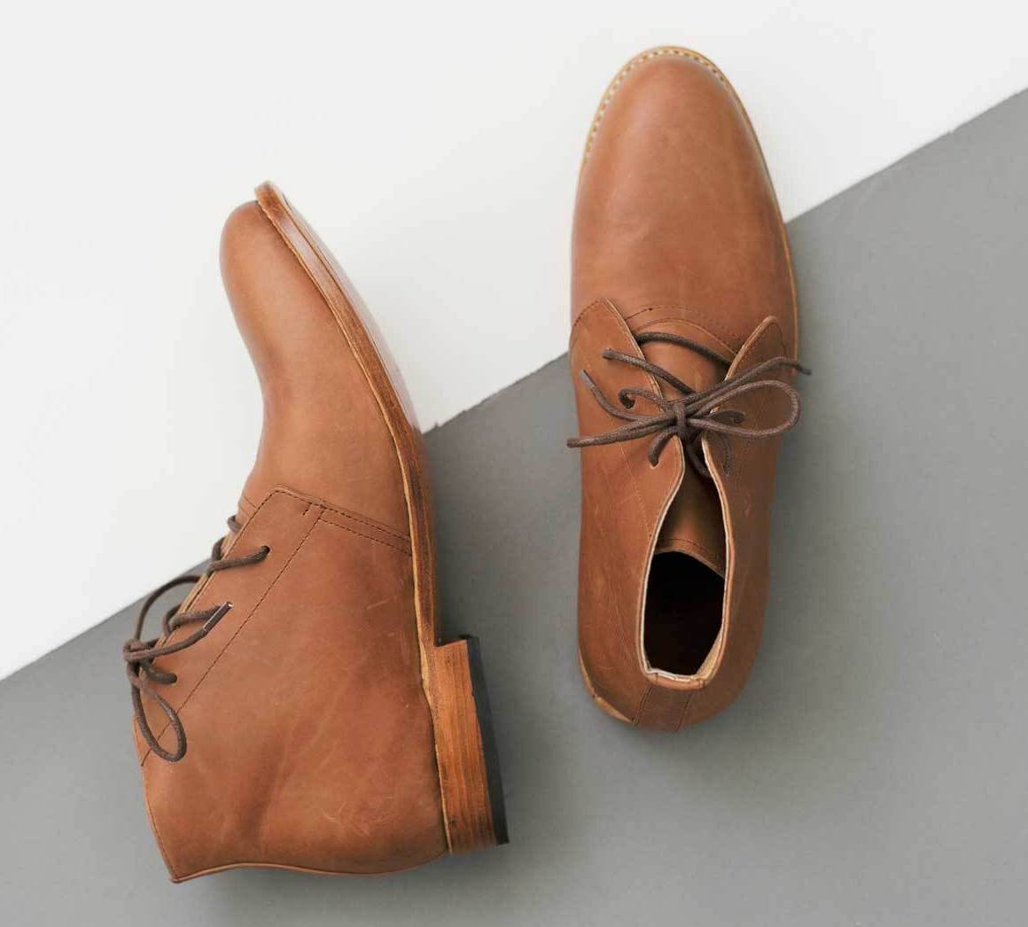 Men's shoes from The Root Collective