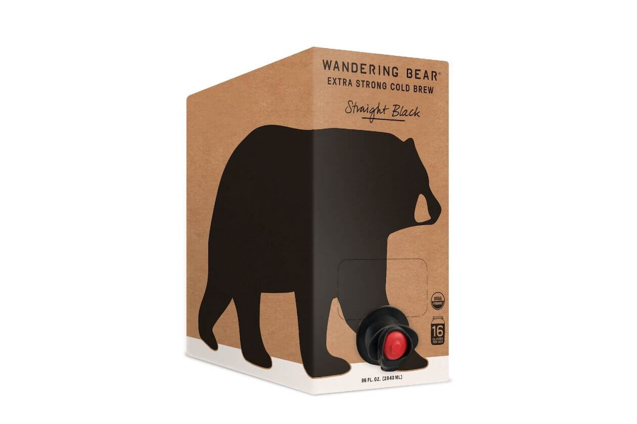 Cold Brew - Wandering Bear (1 of the 10 sustainable coffee brands)