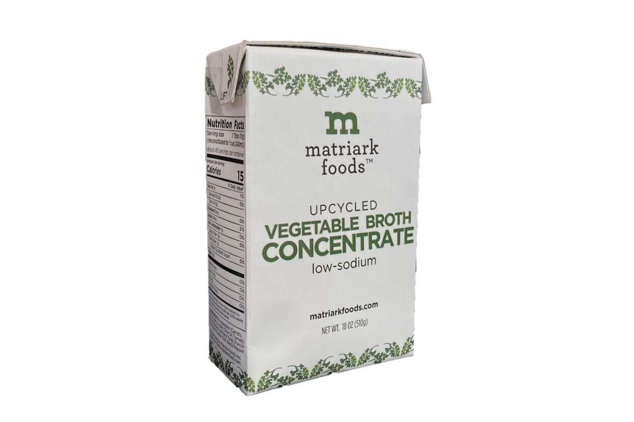 Matriark Foods Upcycled Food Vegetable Broth Concentrate
