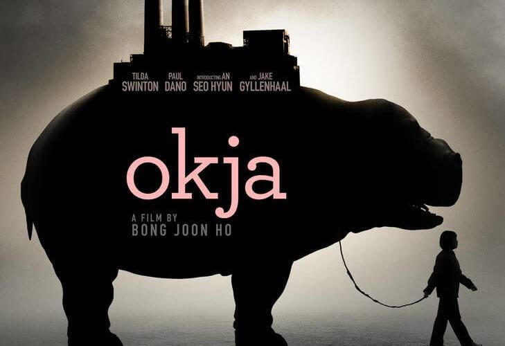 Okja's film poster