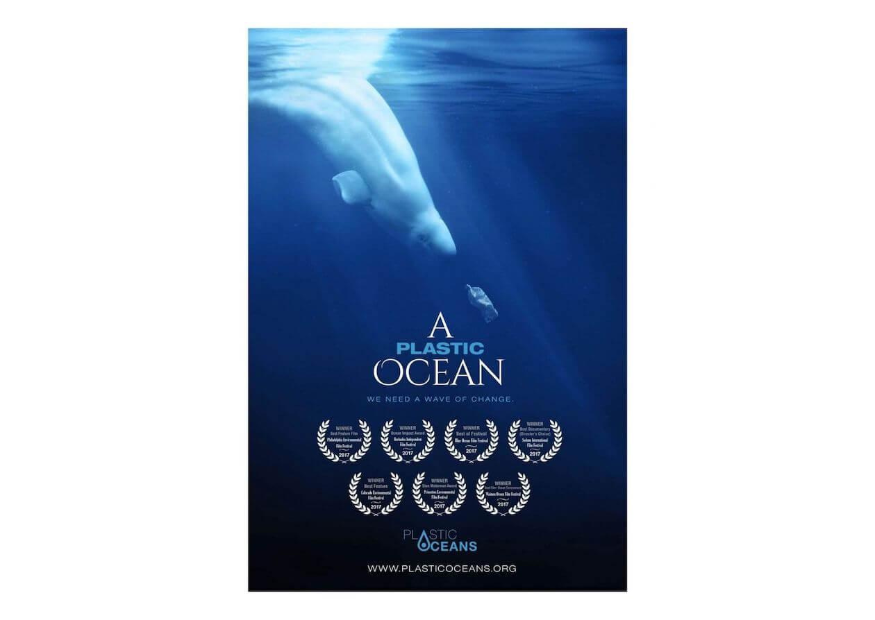 A Plastic Ocean poster