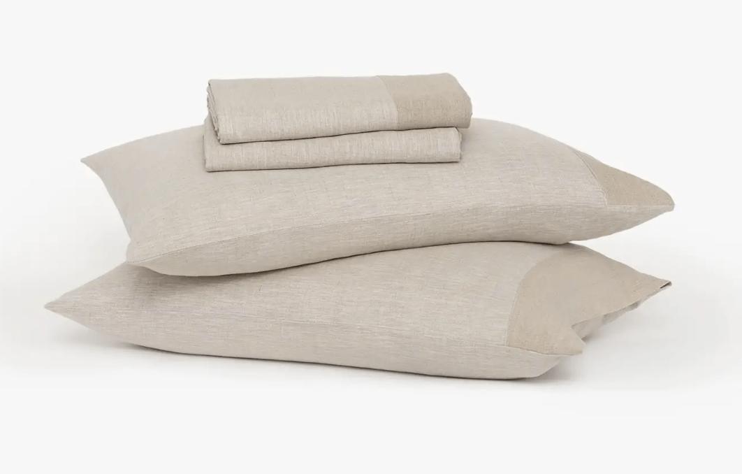Buffy's soft hemp bed sheets!