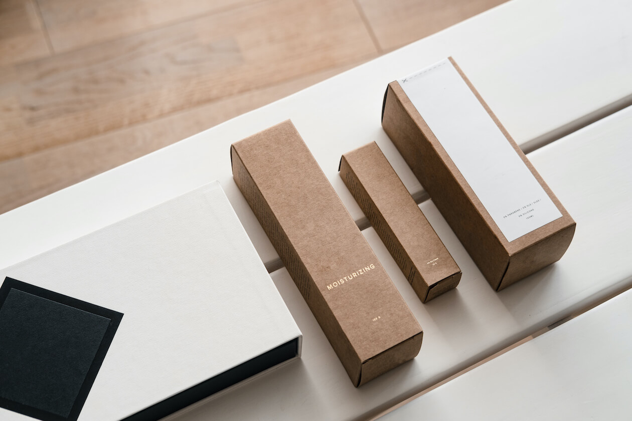 Paper packaged beauty product are also plastic-free goods