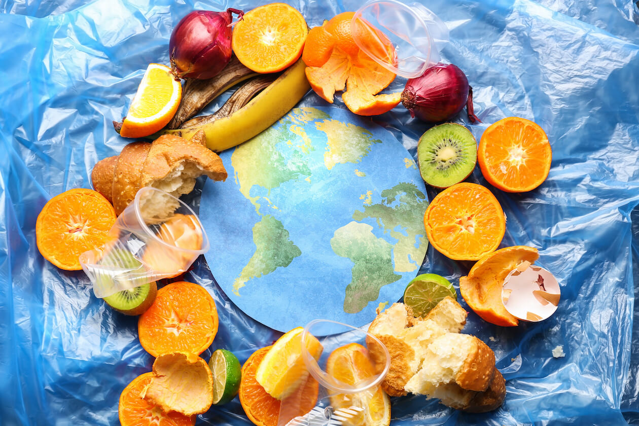 Food waste is a huge factor to environmental issues