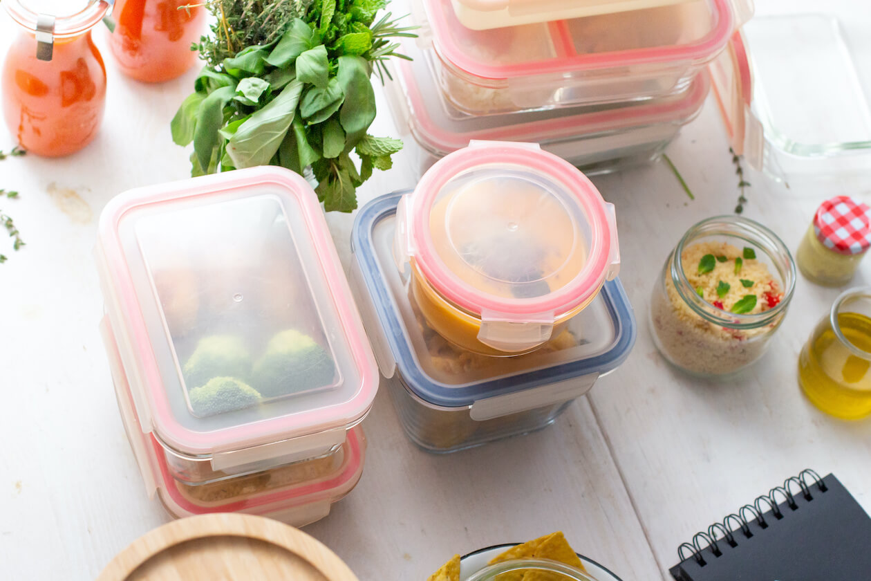 Prepping and properly storing food is one of the zero waste foods tips