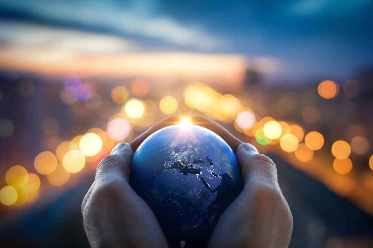 グローカル企業の視点のイメージ