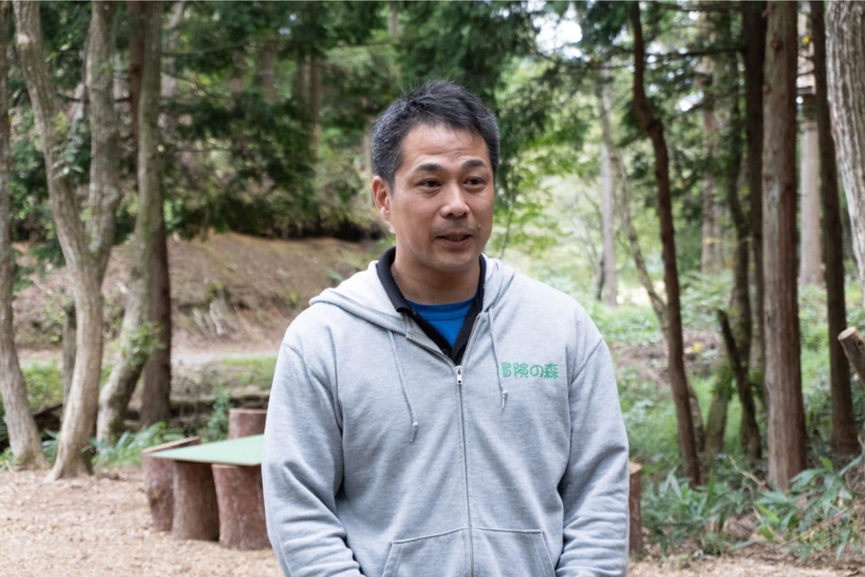 CEOの伴戸忠三郎さん