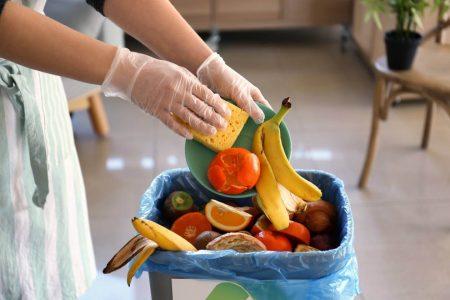 Food Waste Food being thrown away