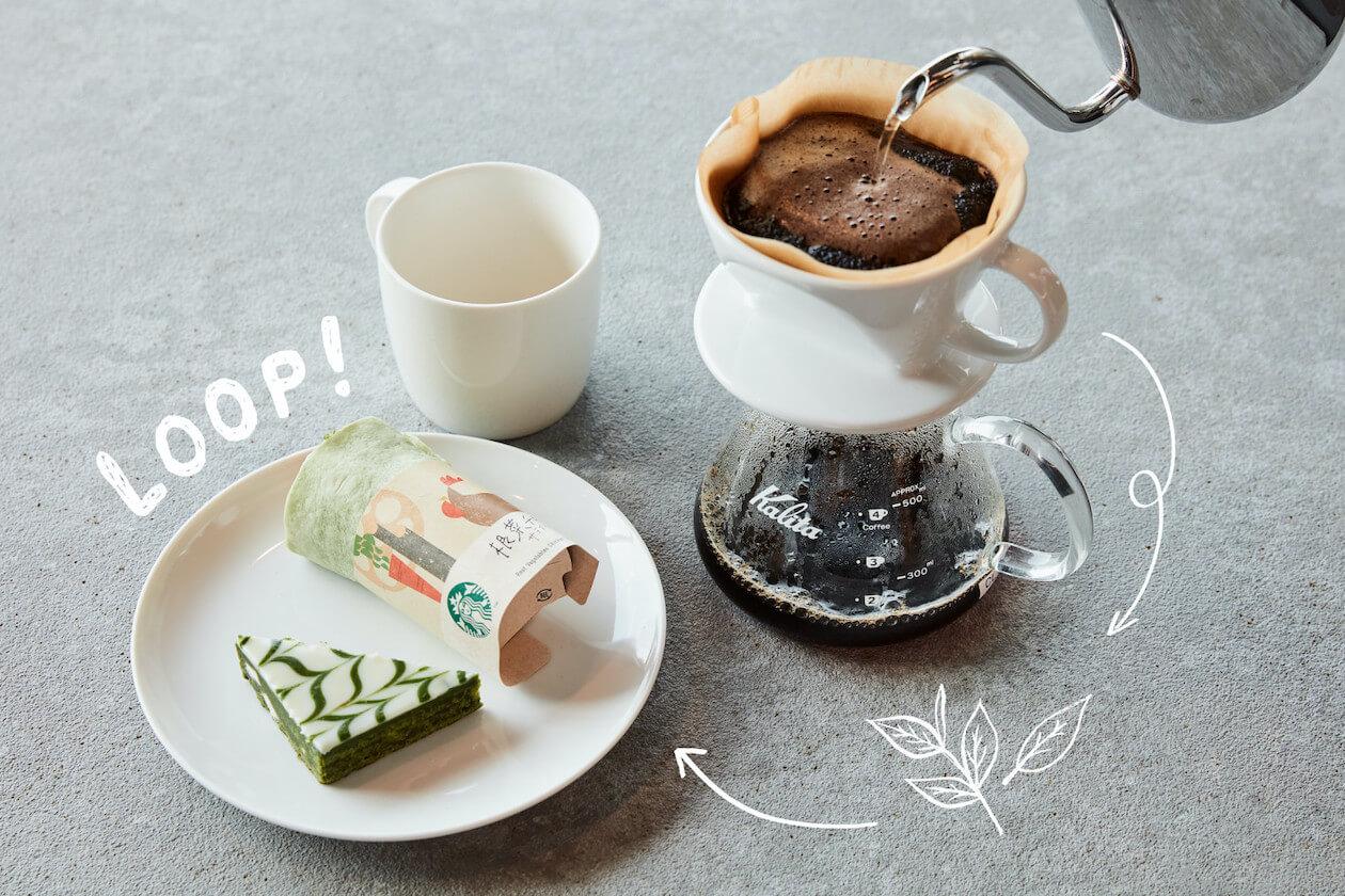 Starbucks Japan's Coffee Ground Recycling Loop Program