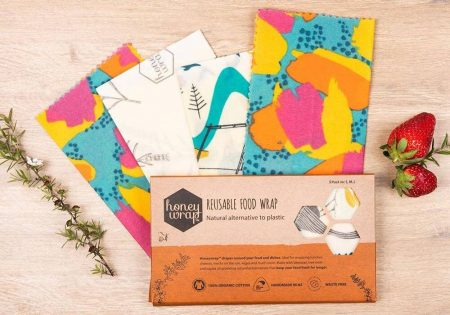 Honeywrap beeswax wrap that is good for the environment
